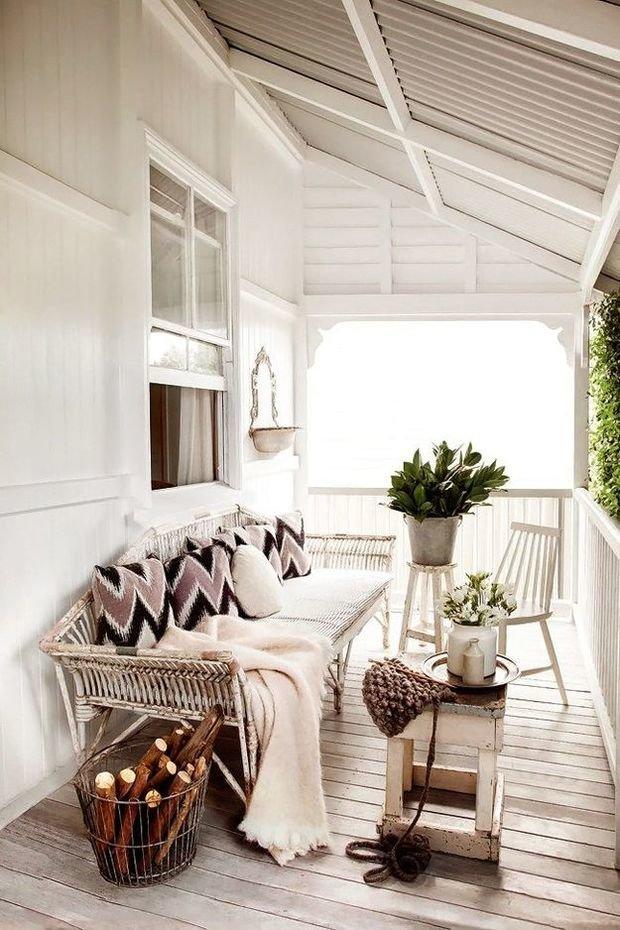 Фотография: Балкон, Терраса в стиле Скандинавский, Декор интерьера, Декор дома – фото на InMyRoom.ru