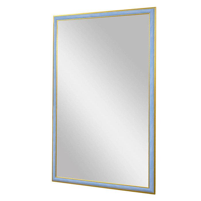 "Зеркало в узкой голубой раме ""Ианта"""