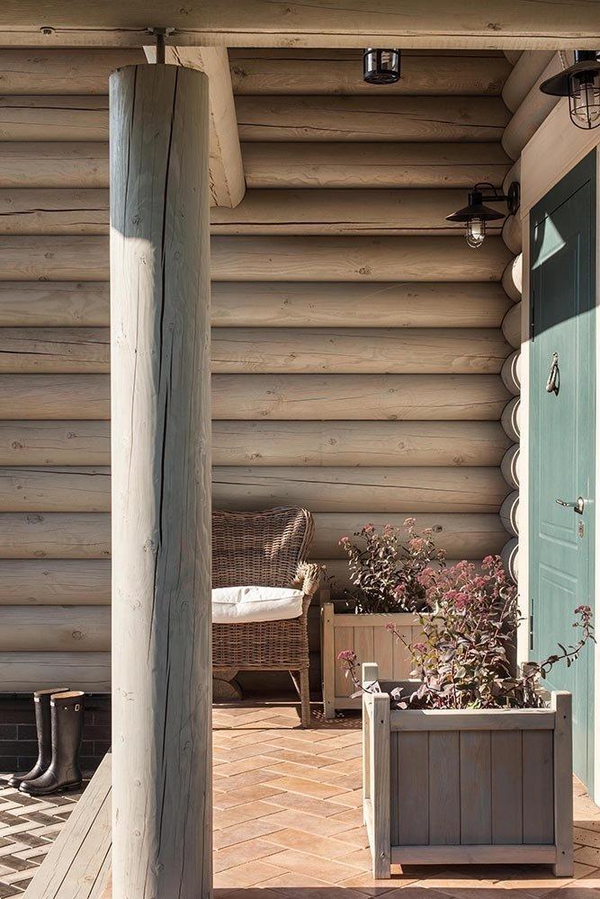 Фотография: Балкон, Терраса в стиле Прованс и Кантри, Дом, Дома и квартиры, Проект недели, Эко – фото на InMyRoom.ru