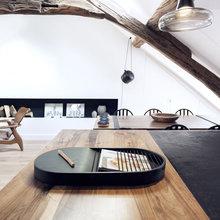 Фото из портфолио Потрясающая смесь старого и современного – фотографии дизайна интерьеров на INMYROOM