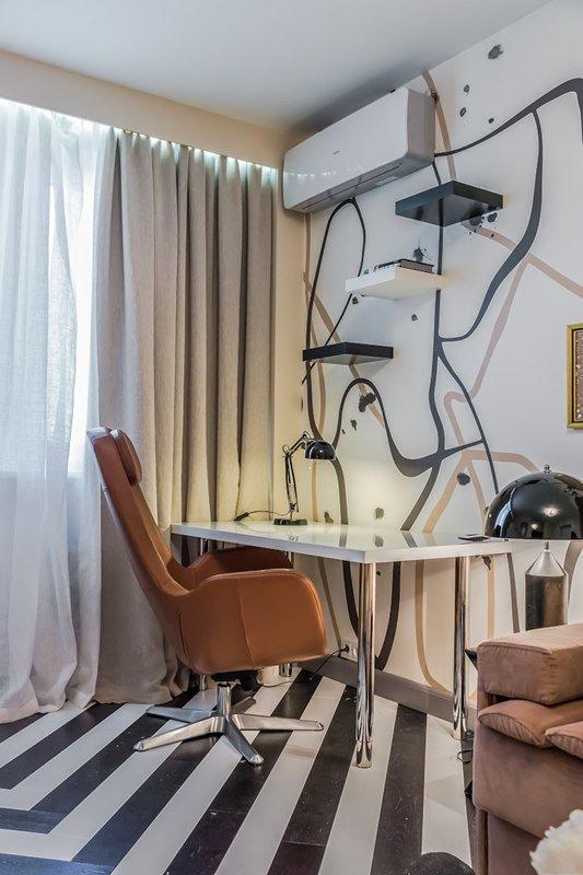 Фотография: Офис в стиле Современный, Декор интерьера, Интерьер комнат, Хрущевка – фото на InMyRoom.ru