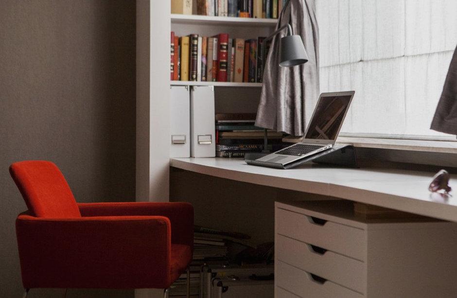 Фотография: Офис в стиле Лофт, Современный, Квартира, Дома и квартиры, Проект недели – фото на InMyRoom.ru