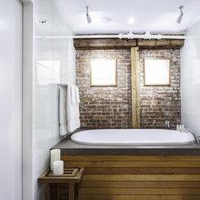 Фотография: Ванная в стиле Кантри, Лофт, Современный, Квартира, Дома и квартиры – фото на InMyRoom.ru