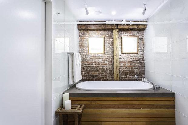 Фотография: Ванная в стиле Прованс и Кантри, Лофт, Современный, Квартира, Дома и квартиры – фото на InMyRoom.ru