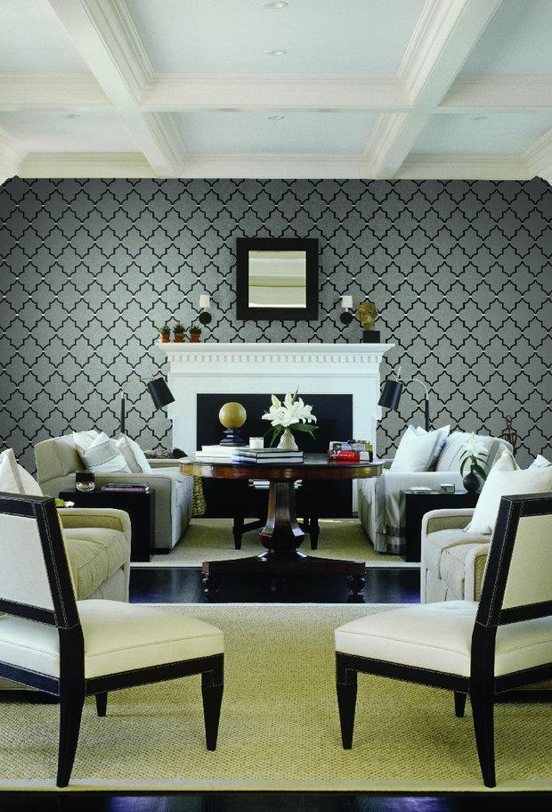 Фотография: Гостиная в стиле Прованс и Кантри, Интерьер комнат, Картины, Зеркало – фото на InMyRoom.ru
