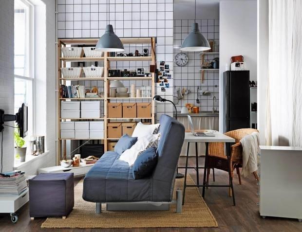 Фотография:  в стиле , Малогабаритная квартира, Гид – фото на InMyRoom.ru