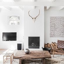 Фото из портфолио Гостиная и Природные материалы, прекрасное сочетание – фотографии дизайна интерьеров на INMYROOM