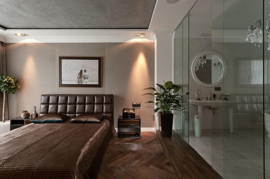 Фотография: Спальня в стиле Эклектика, Ванная, Классический, Интерьер комнат, Проект недели – фото на InMyRoom.ru