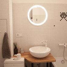 Фотография: Ванная в стиле Скандинавский, Квартира, Проект недели, двухкомнатная квартира, Герой InMyRoom, Казахстан, хрущевка – фото на InMyRoom.ru