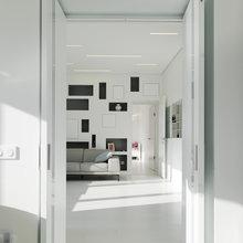 Фото из портфолио Квартир 130 кв.м. в ЖК Мосфильмовский – фотографии дизайна интерьеров на INMYROOM