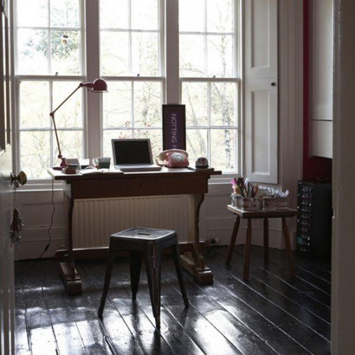 Фотография: Кабинет в стиле Скандинавский, Интерьер комнат – фото на InMyRoom.ru