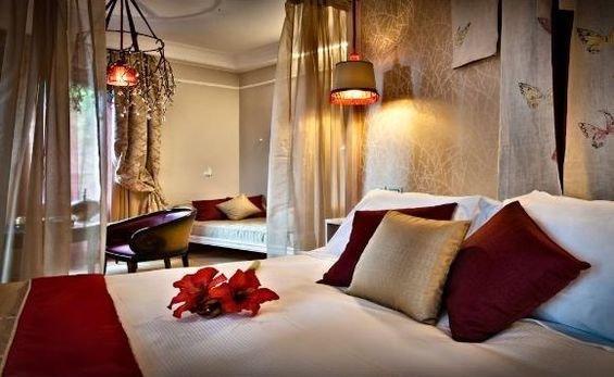 Фотография: Спальня в стиле Современный, Дома и квартиры, Городские места, Отель, Модерн, Милан, Замок – фото на InMyRoom.ru