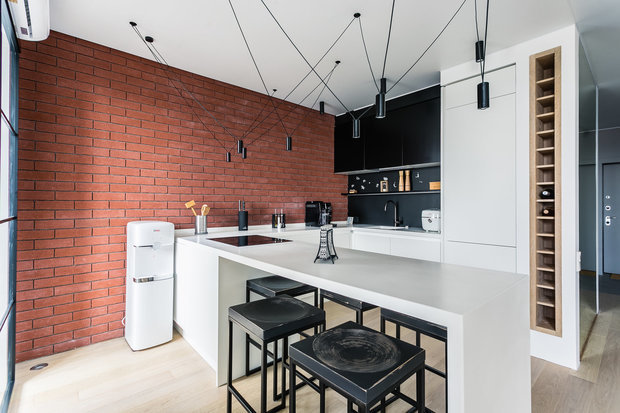 Фотография: Кухня и столовая в стиле Лофт, Минимализм,  – фото на INMYROOM