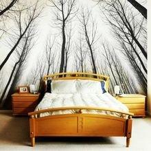 Фотография: Спальня в стиле Современный, Советы, фотообои в интерьере – фото на InMyRoom.ru