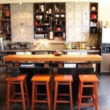 Фотография: Гостиная в стиле Лофт, Кухня и столовая, Интерьер комнат – фото на InMyRoom.ru