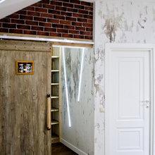 Фотография: Спальня в стиле Кантри, Лофт, Современный, Декор интерьера, Интерьер комнат, Проект недели, Илья Хомяков – фото на InMyRoom.ru