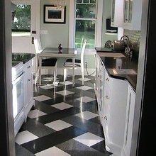 Фотография: Кухня и столовая в стиле Современный, Декор интерьера, Декор дома, Прованс, Пол – фото на InMyRoom.ru