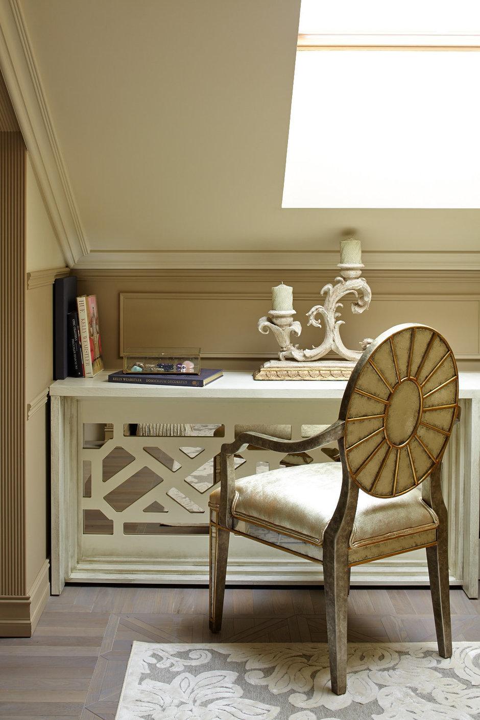 Фотография: Офис в стиле , Классический, Эклектика, Квартира, Текстиль, Дома и квартиры – фото на InMyRoom.ru