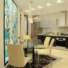 Фото из портфолио Квартира с двойным витражом. – фотографии дизайна интерьеров на INMYROOM
