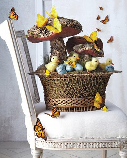 Фотография: Декор в стиле Кантри, Современный, Декор интерьера, Праздник, Цветы, Стол – фото на InMyRoom.ru