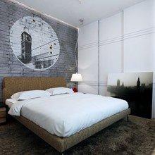 Фотография: Спальня в стиле Скандинавский, Кантри, Лофт, Декор, Советы, Ремонт на практике, кирпич в интерьере, покраска кирпичной стены, кирпичная стена, кирпичная стена в интерьере, краска для кирпичной стены – фото на InMyRoom.ru
