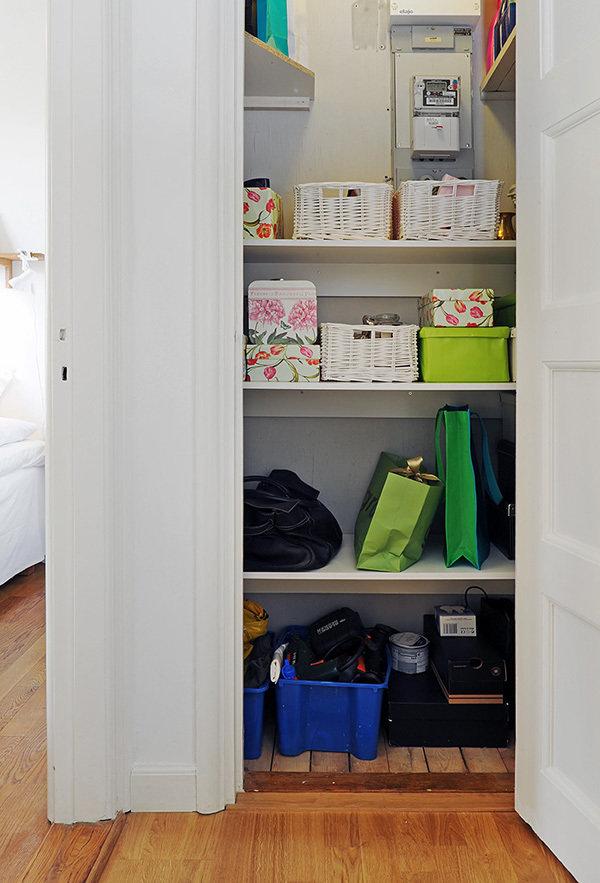 Фотография:  в стиле Современный, Скандинавский, Малогабаритная квартира, Квартира, Швеция, Дома и квартиры – фото на InMyRoom.ru