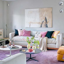 Фотография: Гостиная в стиле Кантри, Эклектика, Декор интерьера, DIY, Дизайн интерьера, Цвет в интерьере – фото на InMyRoom.ru