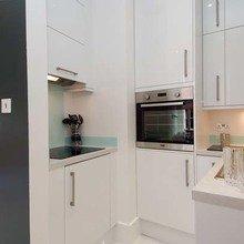Фотография: Кухня и столовая в стиле Современный, Декор интерьера, Малогабаритная квартира, Квартира, Дома и квартиры, Лондон, Квартиры – фото на InMyRoom.ru