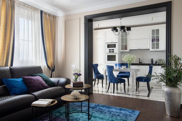 Фотография: Гостиная в стиле Классический, Современный,  – фото на INMYROOM