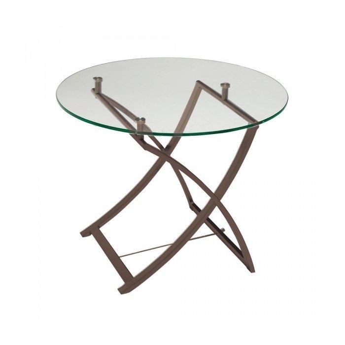 """Кофейный столик """"Round Glass"""""""