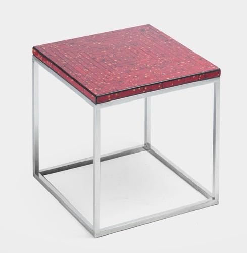 Купить Столик (мозаика) квадратный на стальном основании, inmyroom, Филиппины