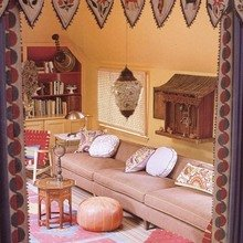 Фотография: Гостиная в стиле Современный, Восточный – фото на InMyRoom.ru