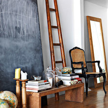 Фото из портфолио Дизайн интерьера домашней библиотеки – фотографии дизайна интерьеров на InMyRoom.ru