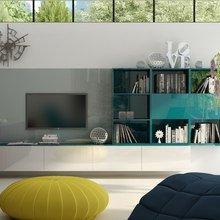 Фото из портфолио Дизайн проект кухни-гостиной в загородном доме – фотографии дизайна интерьеров на InMyRoom.ru