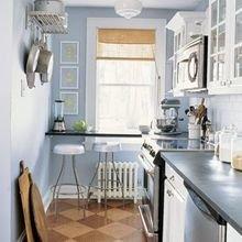 Фотография: Кухня и столовая в стиле Скандинавский, Декор интерьера, Малогабаритная квартира, Квартира, Планировки, Декор – фото на InMyRoom.ru