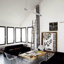 Фото из портфолио Вкрапления золотого в черно-белом интерьере – фотографии дизайна интерьеров на INMYROOM