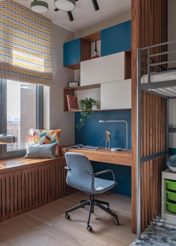Фотография: Детская в стиле Современный, Квартира, Проект недели, Екатеринбург, 4 и больше, Более 90 метров, KOЛЯDA Design – фото на INMYROOM