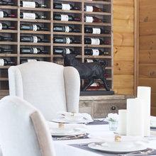 Фотография: Кухня и столовая в стиле Кантри, Эклектика, Дом, Проект недели, Московская область, деревянный дом, Нахабино, Decor&Design – фото на InMyRoom.ru