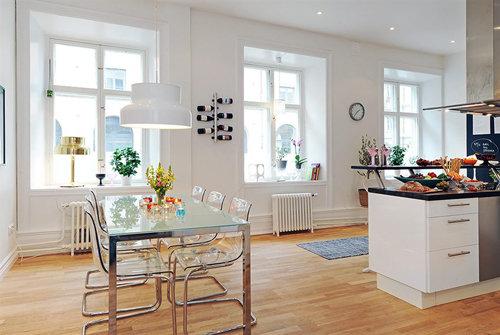 Фотография: Кухня и столовая в стиле Скандинавский, Современный, Декор интерьера, Мебель и свет, Журнальный столик – фото на InMyRoom.ru