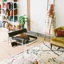Фото из портфолио Богемный рай текстиля, полный вдохновения – фотографии дизайна интерьеров на InMyRoom.ru