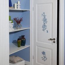 Фотография: Декор в стиле Кантри, Спальня, Интерьер комнат – фото на InMyRoom.ru
