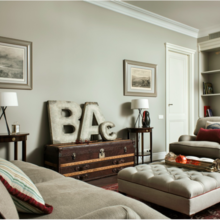Фотография: Гостиная в стиле Кантри, Современный, Декор интерьера – фото на InMyRoom.ru
