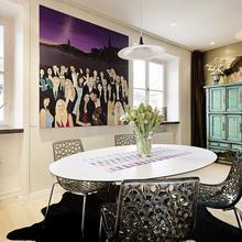 Фотография: Гостиная в стиле Эклектика, Малогабаритная квартира, Квартира, Швеция, Дома и квартиры – фото на InMyRoom.ru