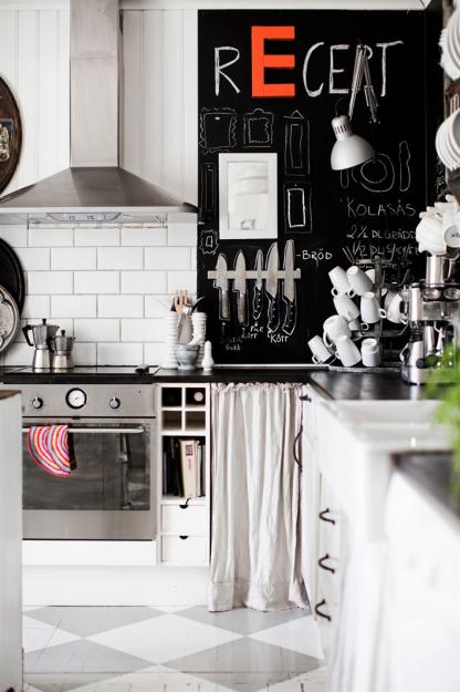 Фотография: Кухня и столовая в стиле Скандинавский, Дом, Швеция, Дома и квартиры – фото на InMyRoom.ru