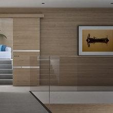 Фото из портфолио Дверь-купэ – фотографии дизайна интерьеров на InMyRoom.ru