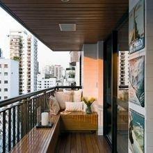 Фотография: Балкон в стиле Современный, Кантри, Квартира, Декор, Советы, как обустроить открытый балкон, городской балкон, открытый балкон, идеи для открытого балкона – фото на InMyRoom.ru