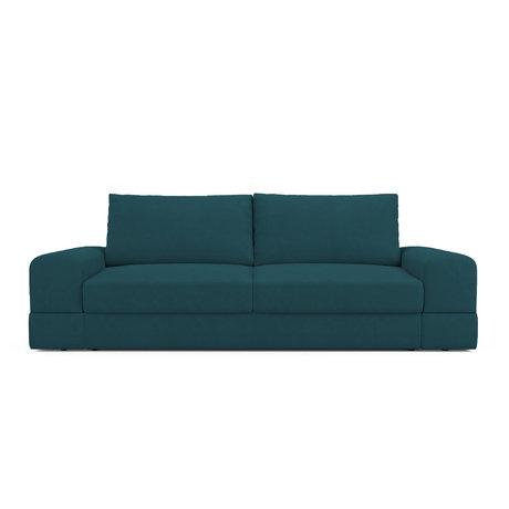 Диван-кровать elke сине-зеленого цвета — купить по цене 52500 руб в москве | фото, описание, отзывы, артикул imr-1124013 | интернет-магазин inmyroom