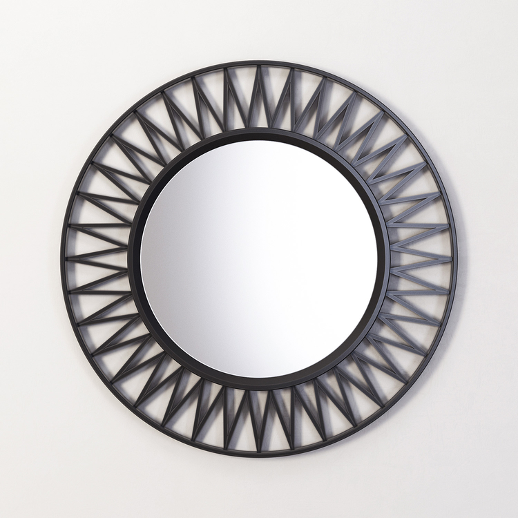 Купить Зеркало Otto в чёрной раме, inmyroom, Россия