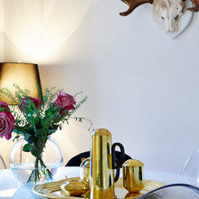 Фото из портфолио Латунь, мрамор, и ностальгия... – фотографии дизайна интерьеров на INMYROOM