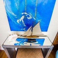 Фотография: Декор в стиле Современный, Спальня, Декор интерьера, Интерьер комнат, Морской – фото на InMyRoom.ru